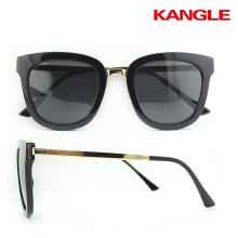 Las últimas gafas de sol de metal novedad diseño gafas de sol de metal Cool marco de metal para la conducción