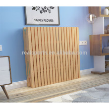 Alta Qualidade Única Cama Dobrável Preço Dobrável Importado Pinus Sylvestris Cama De Solteiro De Madeira
