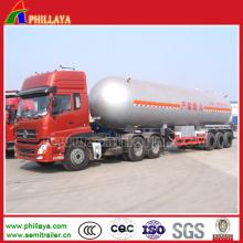 Semi remorque 50m3 LPG pour le transport de gaz GPL