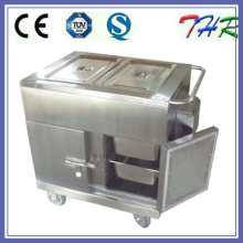 Full Stainless Steel Electric Heating Food Trolley (THR-FC005)