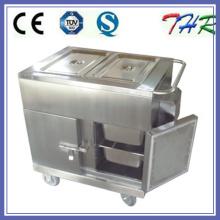 Электрическая тележка нагревательного материала из нержавеющей стали (THR-FC005)