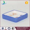 YSb40046-01-sd Quadratische keramische Dusche Seifenschale mit Blumen-Abziehbild