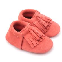 Fashion Wholesale Mix Colors Fancy Soft Leather Baby Shoes