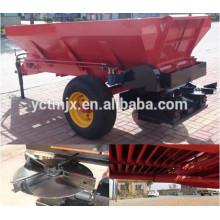 Esparcidor arrastrado tractor agrícola, venta caliente del esparcidor de abono de corral
