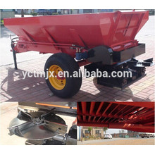 Agricultural tractor trailed spreader, farmyard manure spreader hot sale