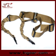 Military Bungee Strap Two Point Rope Strap Hook Belt Rifle Sling