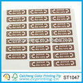 manufacture paper sticker baby cloth sticker label