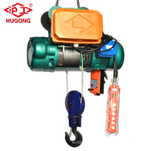 HUGO CD1 Wire Rope Electric Hoist with 5T Capacity