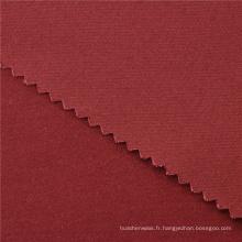 32x16 + 70D / 195x60 256gsm 139CM Bleu pur 100% coton textile jersey tissu ignifuge
