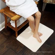 tapis de bain lavable en mousse à mémoire de forme lavable à la machine