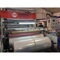 Máquina de película de estiramiento de doble capa