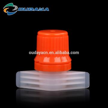 Boquilla de 9.6 mm con tapa para bolsas de agua potable
