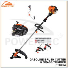 Powertec 30cc 1000W Sellin Brunnen Benzin Gras Trimmer (PTG09A)