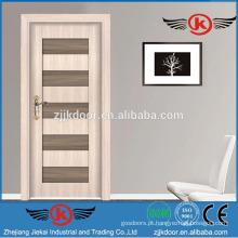 JK-SW9301-1 novo design portas interiores italianas fortes de madeira arredondadas