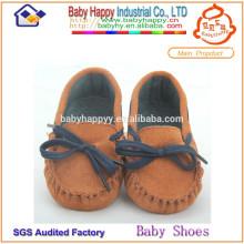 Zapatos ocasionales al por mayor del bebé de la fábrica
