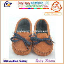 Good girls training walking hard sole baby shoes china