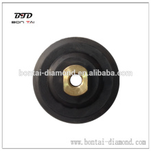 Rubber backer pad for flexible polishing pads hot sale