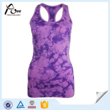 Lady Custom Design Dry-Fit Gym Sublimation Y-Back Débardeurs