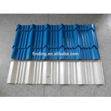 techo de cubierta metálica prepintada acero panel panel/corrugado hoja de acero