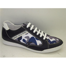 Mens Patchwork Leather Mens Sports Shoes (NX 509)