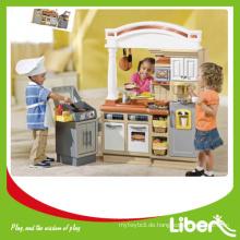 Innen Küche Kinder Plastik Küche Spielhäuser Spielzeug LE.WS.052 Qualität gesichert