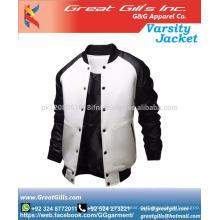 Mann Winter benutzerdefinierte Uni-Jacke / Bomberjacke Großhandel Daunenjacke