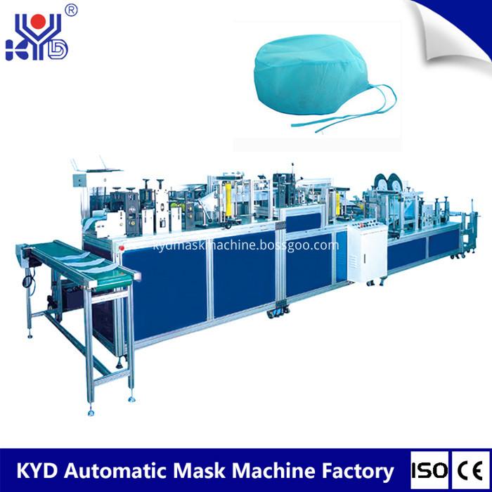 surgical cap making machine
