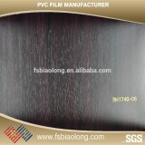 New Design soft pvc wood grain membrane film for covering furniture