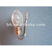 2012 горячий продают кристаллический занавес крюка металла. Занавески для штор, декорирование окон