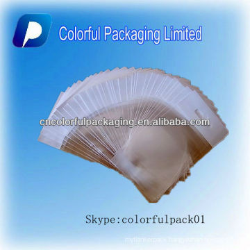 PP material plastic header hang hole commodity packaging bags