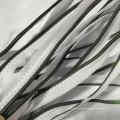 Buntes reflektierendes elastisches, Spendex Gewebe, das / Band kämmt