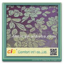 Nouvelle conception jolie ningbo rideau en jacquard polyester tissu noms de la mode