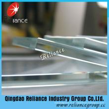 Verre de flotteur de fer de 6mm 8mm 10mm bas / verre de flotteur ultra clair avec Ce ISO