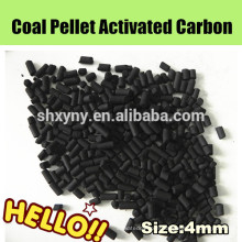 Drinking water cleaning coal based extruded activated carbon price