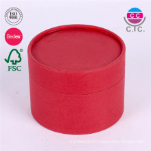 Custom Logo Printed Cardboard Gift Cosemtic Paper Round Packaging Boxes