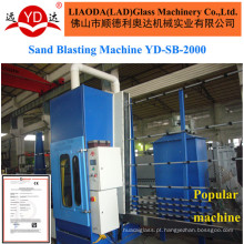 Glass Wall Shower Door Surface Sand Blasting Machine