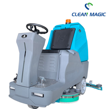 Industrial Battery Type Automatic Ride on Floor Scrubber
