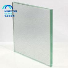 venta caliente vidrio templado helado grande para puertas