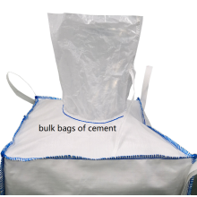 Big Bags Bulk Bags aus Zement