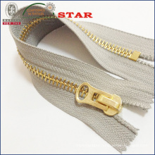 #10 Big Teeth Gold Zipper for Garments