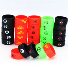Decorative and Protection OEM Screen Printing Vape Band