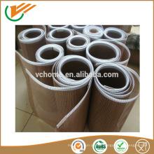 Qualité alimentaire Haute résistance à la traction China Top 10 haute qualité ptfe téflon enroulé en fibre de verre tapis convoyeur ceinture!