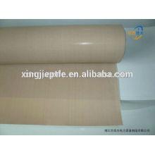 Bonne stabilité à l'hydrolyse Tissu en fibre de verre revêtu de PTFE / Tissu