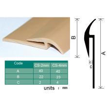 Bande de capsulage en plastique flexible qui respecte l'environnement pour le plancher en vinyle