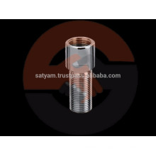 Pezón de latón para reducción de longitud de tubo o extensión