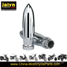 Chromed Motorcycle Handle Grips Dia 25mm