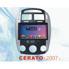 Vidéo de voiture Android 5.1 pour Cerato avec lecteur DVD de voiture