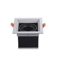 Double Head GU10 Fitting Grille Recessed Down Light