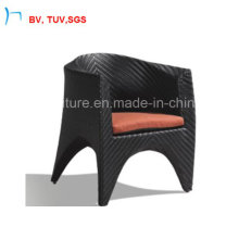 Chaise Fishbone Weaving Dining Outdoor Chair with Garden (Y-4041)