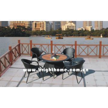 Outdoor Wicker Garden Furniture Dining Set Bp-377